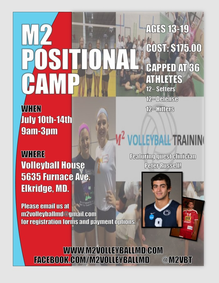 Positional Camp Flyer